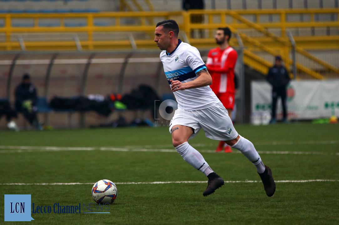 Calcio Lecco Segato CasateseRogoredo Amichevole 7 Febbraio 2019 Segato (16)
