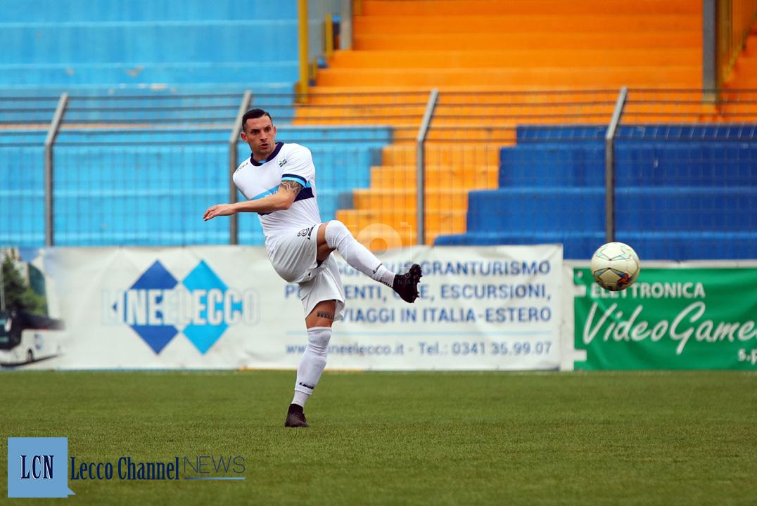 Calcio Lecco Segato CasateseRogoredo Amichevole 7 Febbraio 2019 Segato (8)
