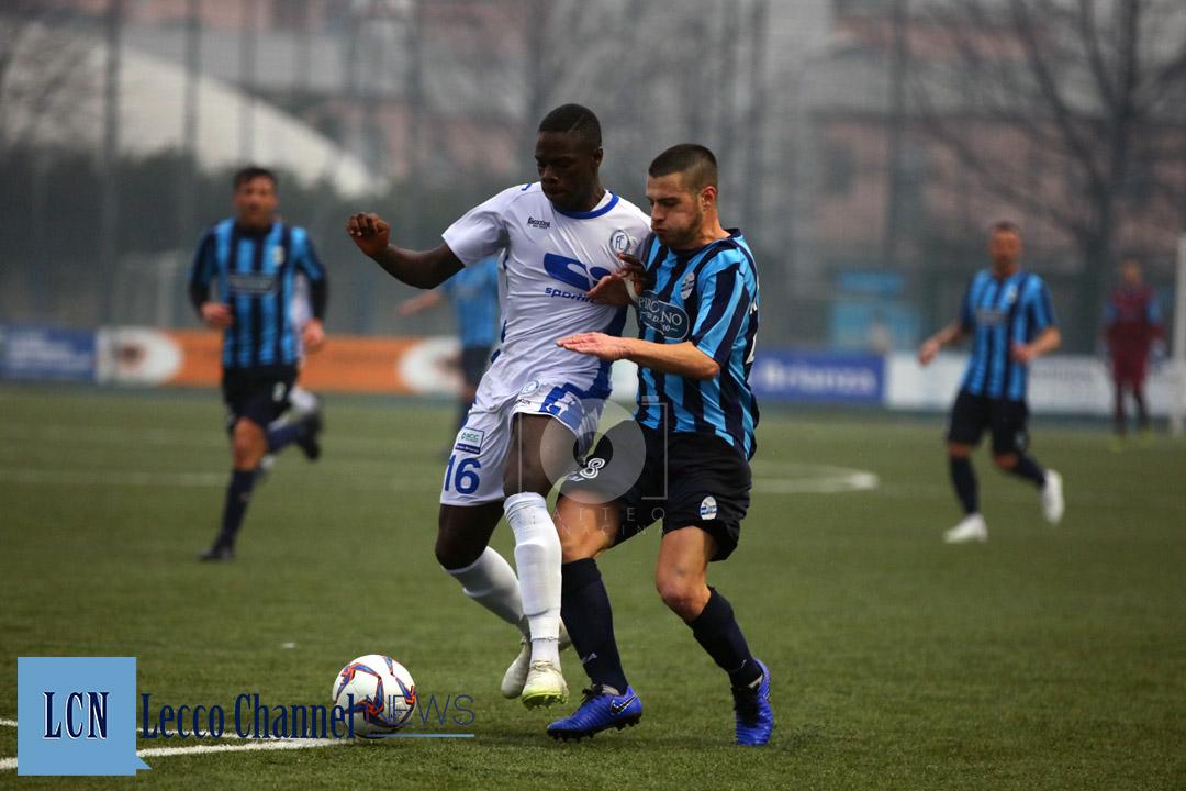 Calcio Lecco Moleri Ngom Folgore Caratese Serie D 10 febbraio 2019 (30)