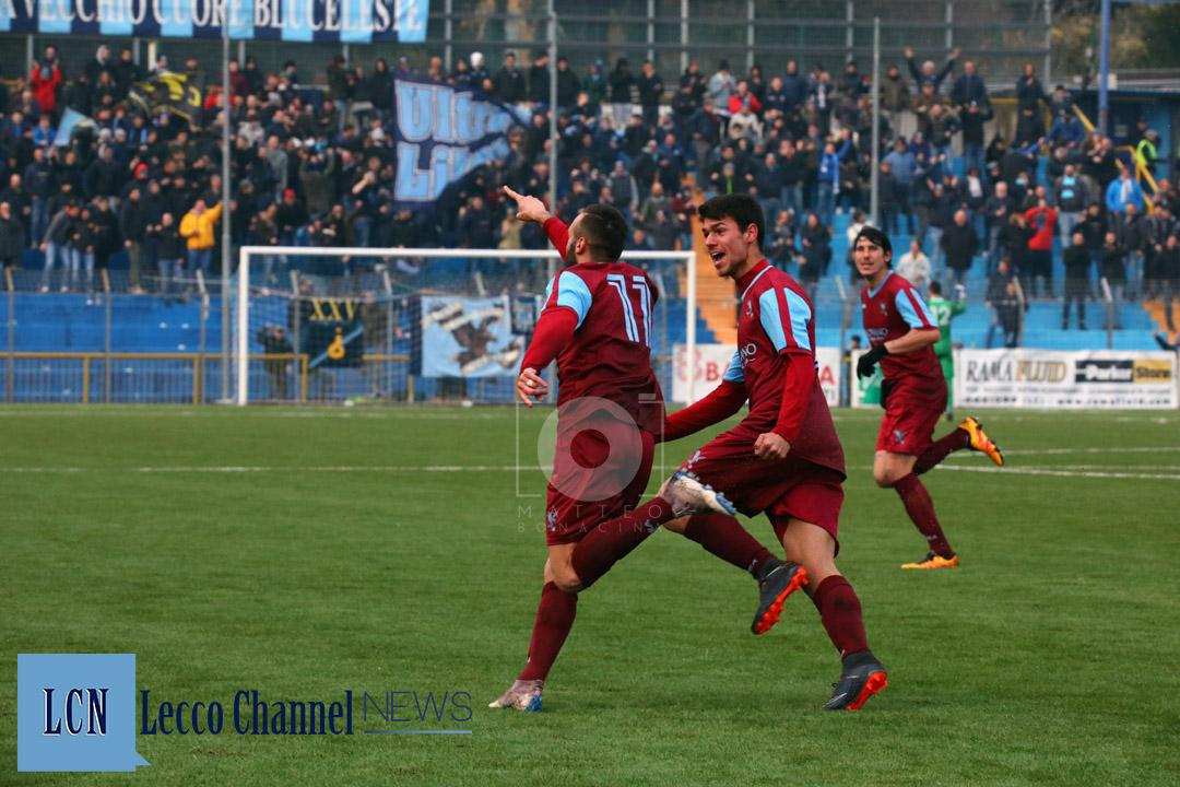 Calcio Lecco D'Anna Magonara Curva Nord Lavagnese Campionato Serie D 3 Febbraio 2019 (43)
