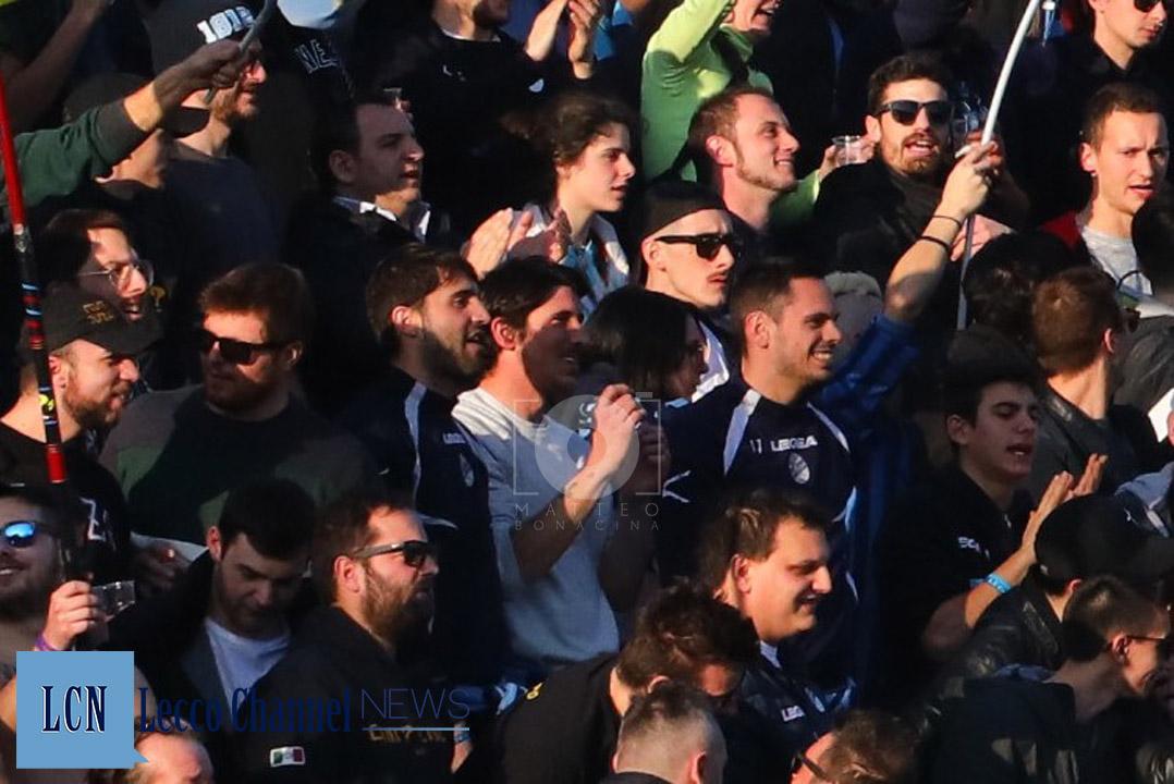 Calcio Lecco Savona Campionato Serie D 17 Febbraio 2019 Pedrocchi Merli Sala Capogna Curva Nord