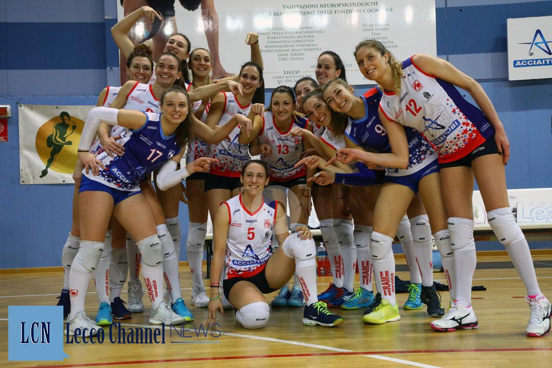 Picco Lecco Foto di squadra Mandaglio Scuola del Volley Varese Serie B1 Campionato 9 Febbraio 2019 (31)