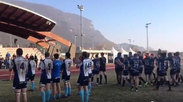 Rugby Lecco Lumezzane applausi