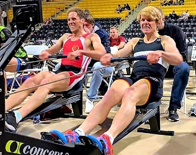 mondiali indoor rowing 2019 goretti argento 2