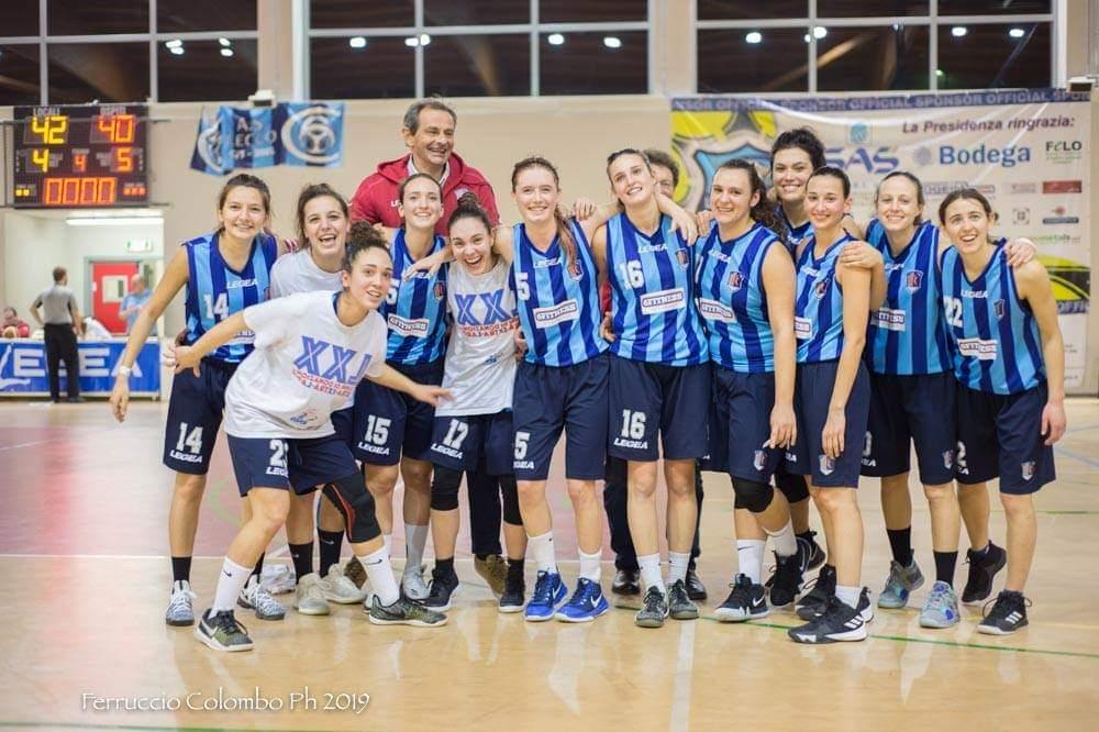 Lecco Basket Women bluceleste
