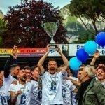"""Coppa e festa per la Calcio Lecco 1912 dei record. Gli scatti dal """"Rigamonti-Ceppi"""""""
