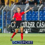 Calcio Lecco, un fischietto internazionale per la Triestina: arbitra Maria Marotta