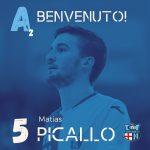 È Matias Picallo il primo rinforzo del Lecco per la Serie A2