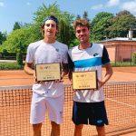 Davide Pozzi scrive la storia del tennis lecchese: vinto Itf di doppio in Lussemburgo
