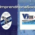 Calcio Lecco, nuovo accordo di sponsorizzazione: ecco Viesse Srl